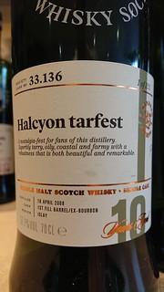 SMWS 33.136 - Halcyon tarfest