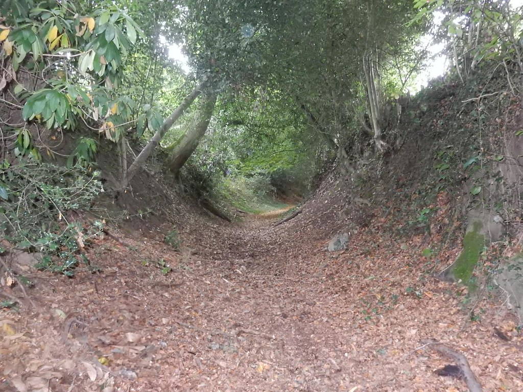 Up the bridleway Oxted Circular