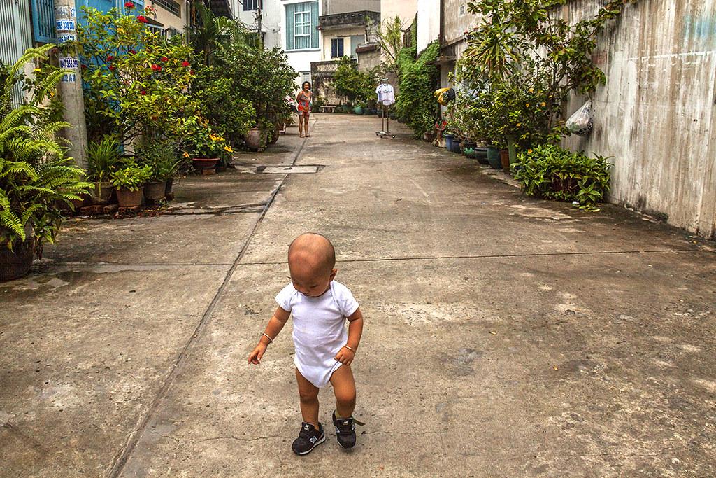 My alley--Saigon