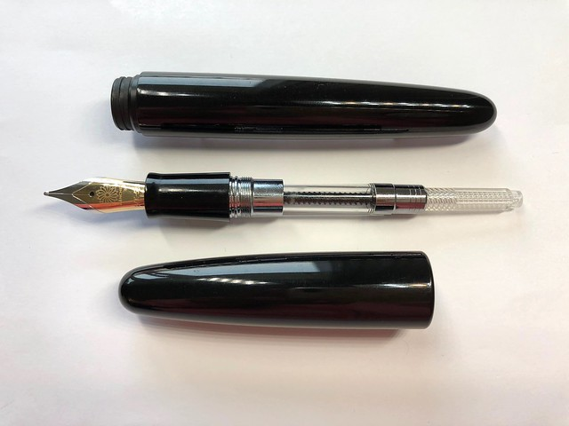 @Wancher Dream Pen True Ebonite Fountain Pen Review 18