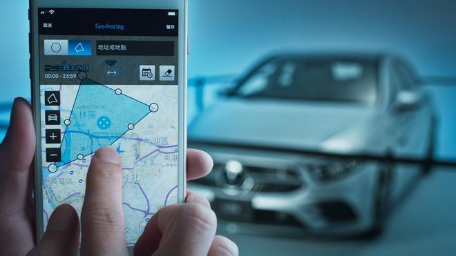 透過設定特定區域車輛監控,即可監控是否有人將車輛駛離設定的區域,隨時於手機上收到移動訊息