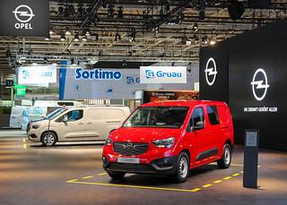 Neuer Opel Combo auf der IAA