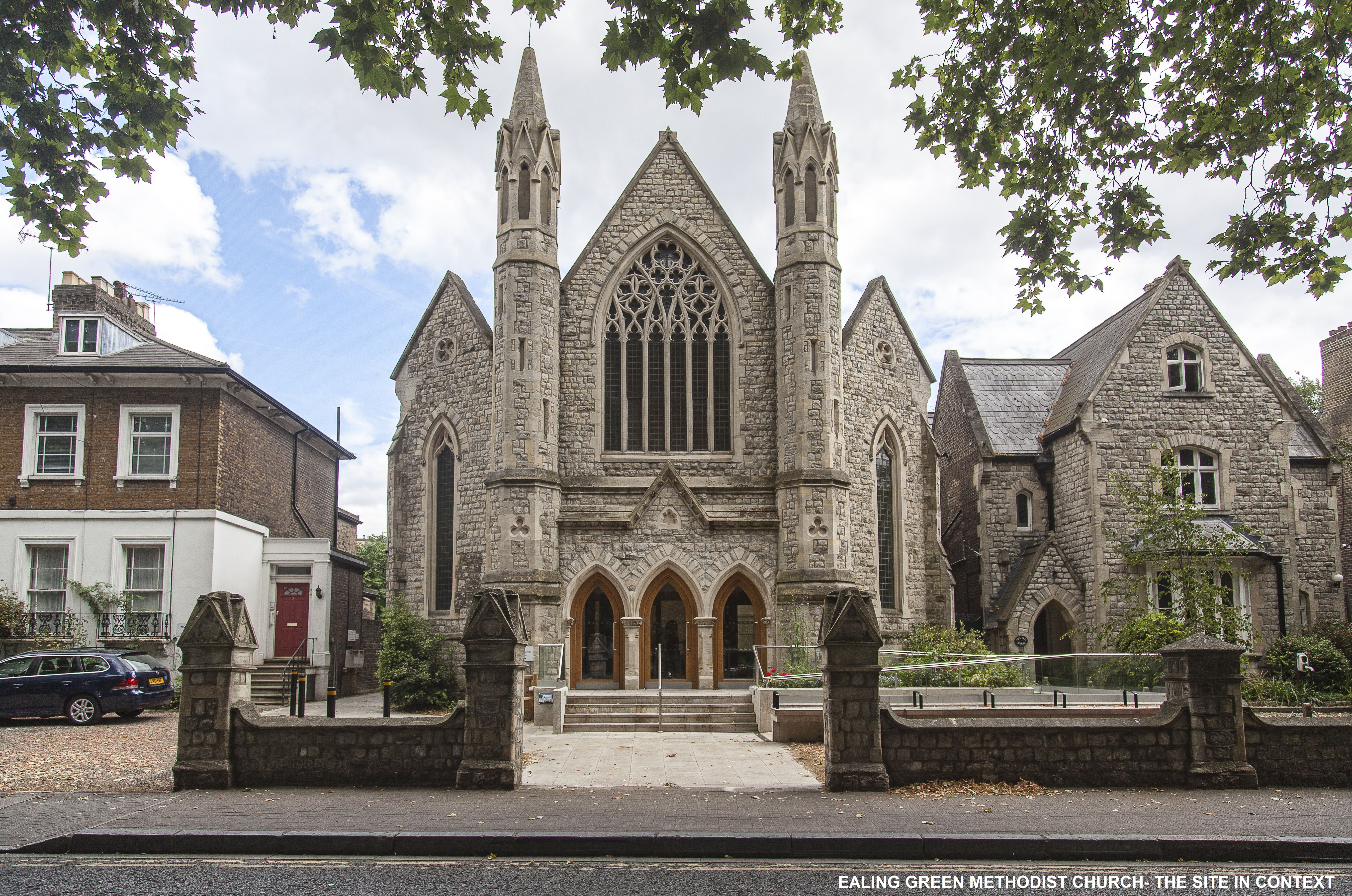 Ealing Green Church - the site in its context