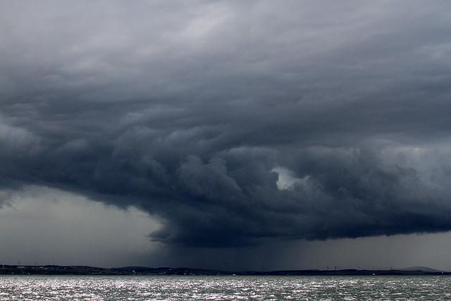 Storm over Banff & Macduff