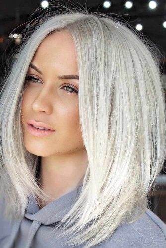 Best Medium Length Haircuts For Thick Hair 2019 -Amazing Look 12