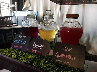 Ice Tea stall at Brisbane Vegan Markets
