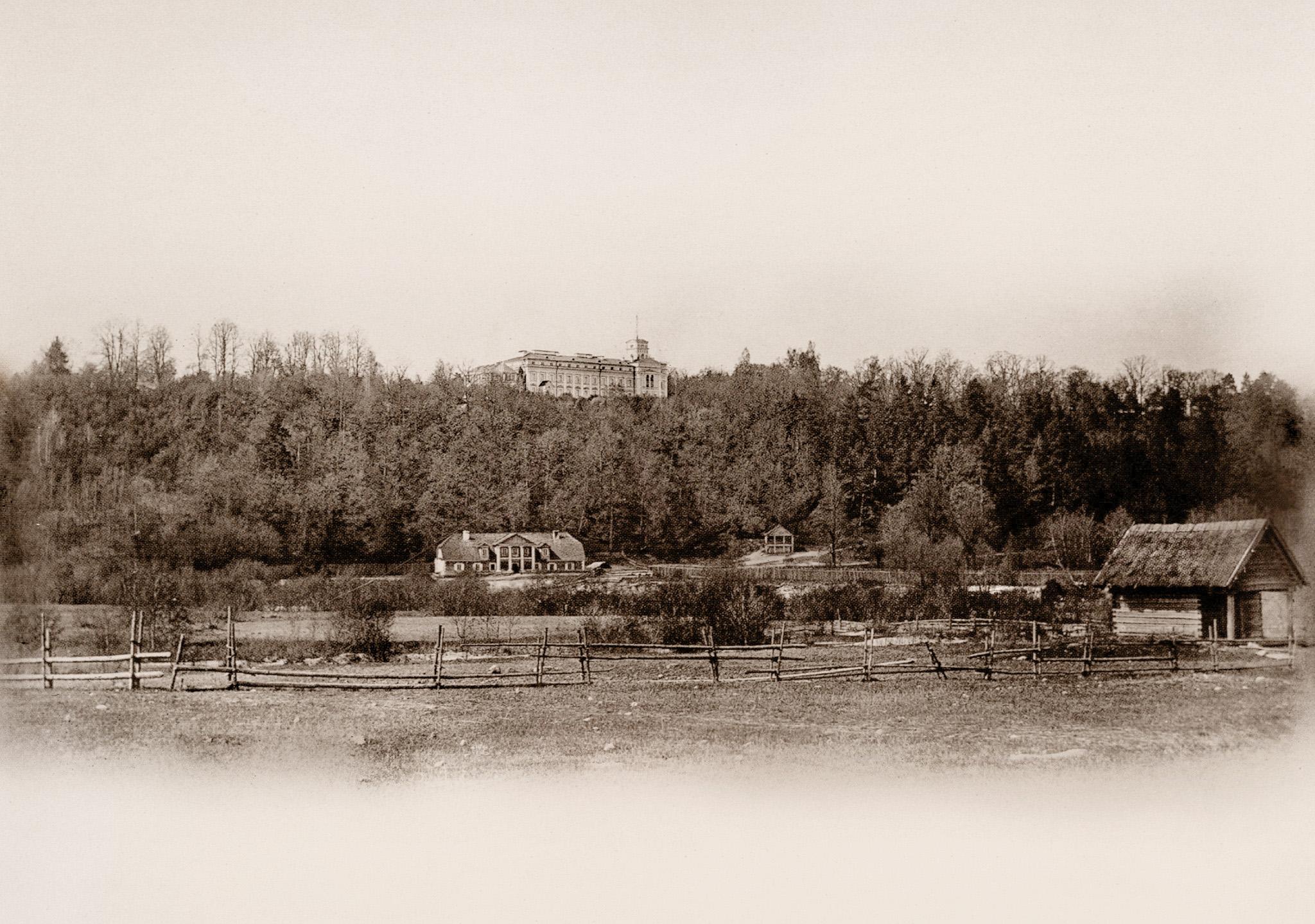 Загородный трактир «Соломянка» при имении Верках. 1861
