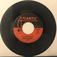 THE SPINNERS:I'LL BE AROUND(RECORD SIDE-A)