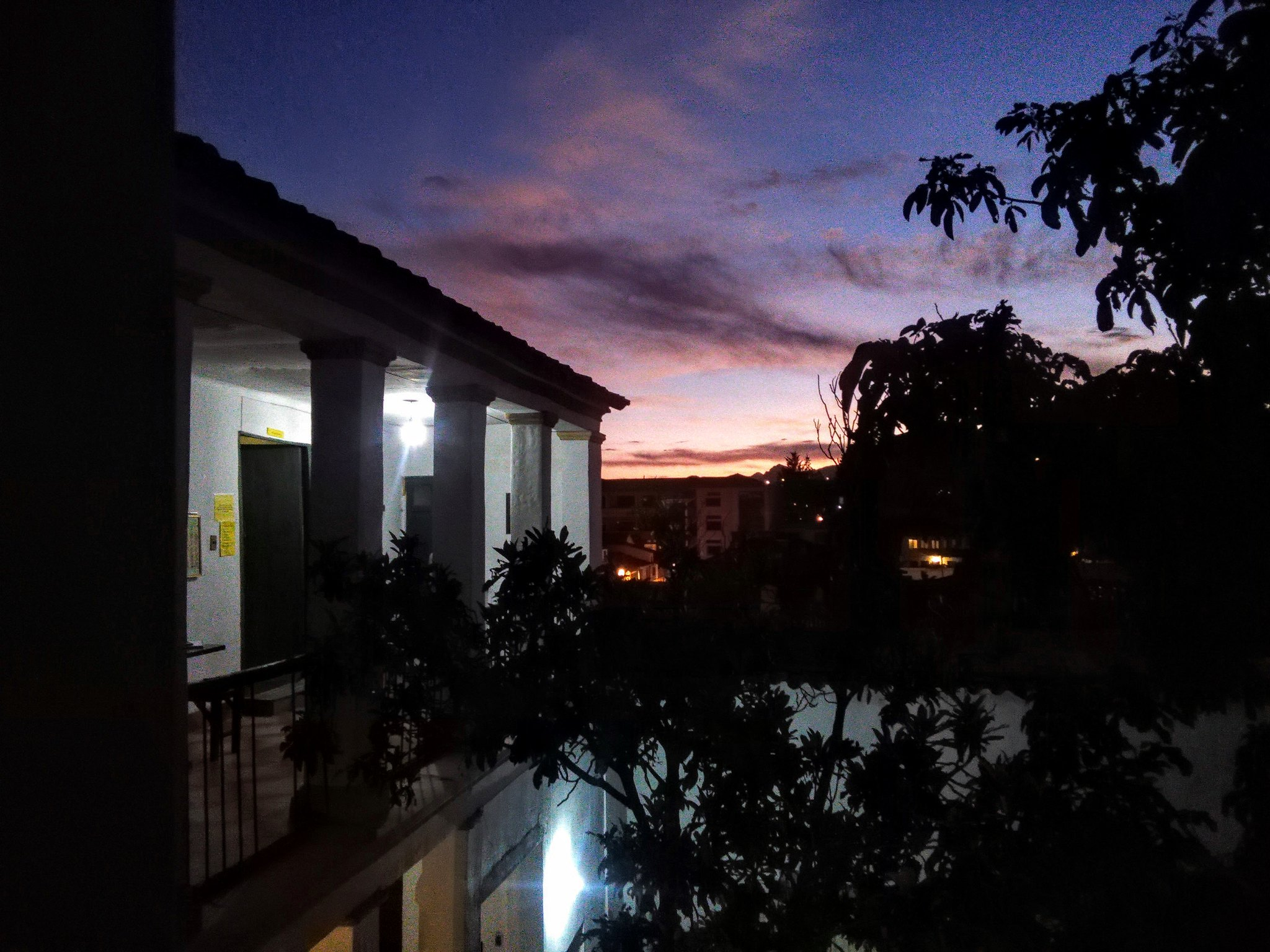 Sunset from Beehive, Sucre