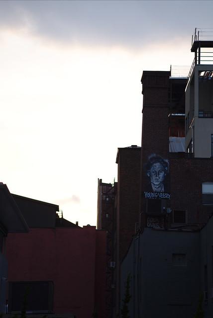 Young Veery street art, Fujifilm X-T20, XF60mmF2.4 R Macro