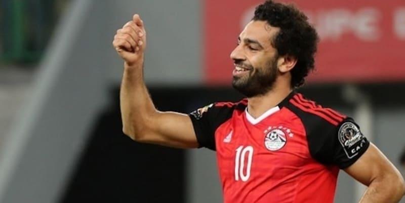 Salah tersenyum setelah Mesir mengalahkan Niger
