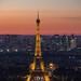 Eiffel Tower @ Night by Lauren Tucker Photography