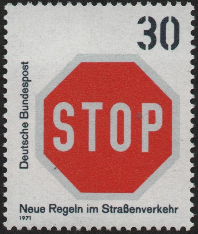 Federal Republic of Germany - Scott #1057 (1971)