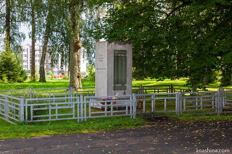 "Памятник финским солдатам ""За Родину"", Мельниково"