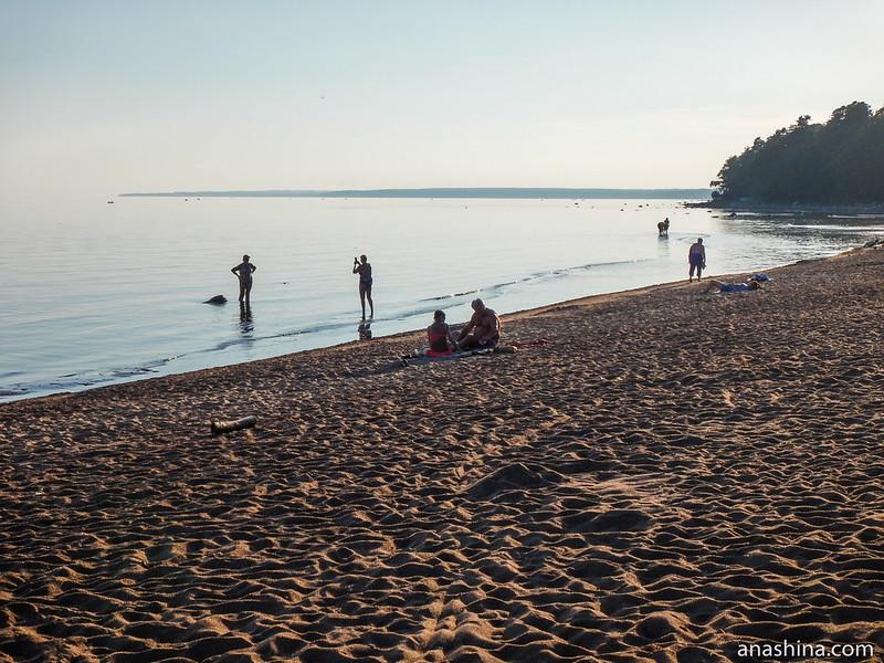 Пляж, Балтийское море