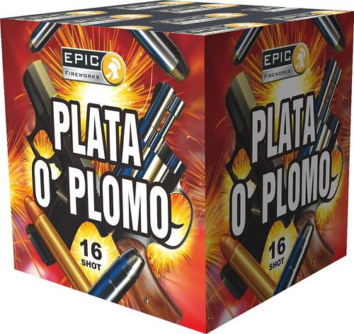PLATA O PLOMO 16 SHOT CAKE #EpicFireworks