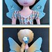 vannina_sf posted a photo:Eleonor rag doll with its fairy costume. www.spoonflower.com/designs/3963854-eleonor-creatures-set...