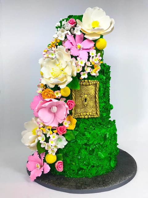 Secret Garden Party Themed Cake from Creative Cake Designs by Lisa