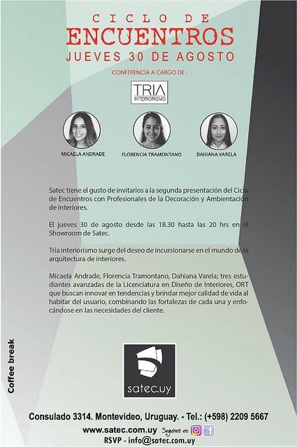 Ciclo de encuentros: TRIA Interiorismo