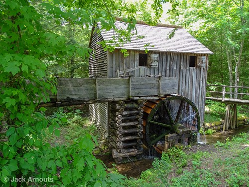 woods historic old gristmill trees wood water scenic view travel waterwheel mill