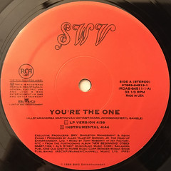 SWV:YOU'RE THE ONE(LABEL SIDE-A)