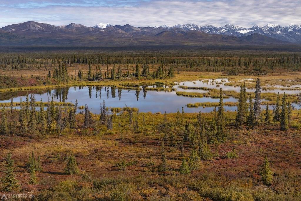 Color bomb landscape - Alaska