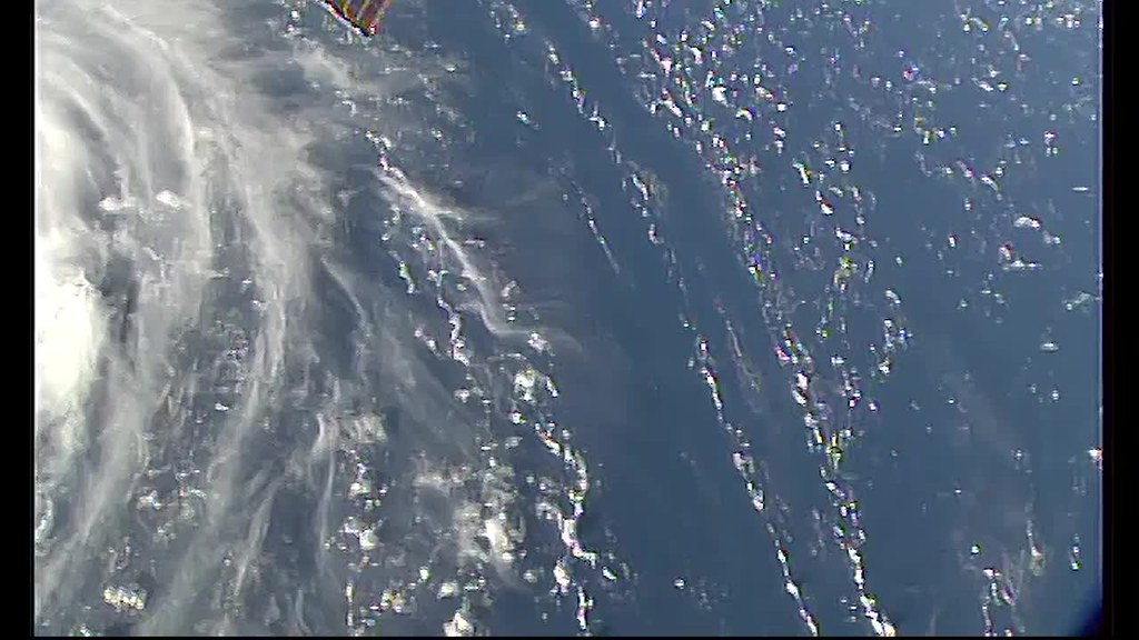 Views of Hurricane Florence from Space