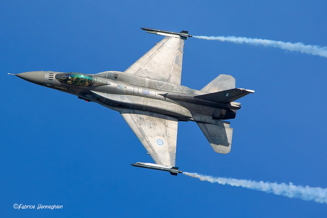 529 Lockheed Martin F-16C Hellenic Air Force Zeus demo