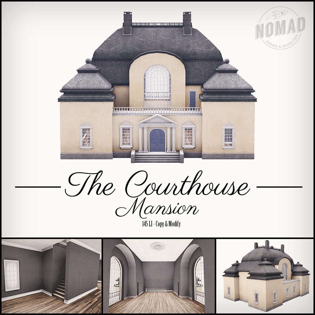 NOMAD // The Courthouse Mansion - TeleportHub.com Live!