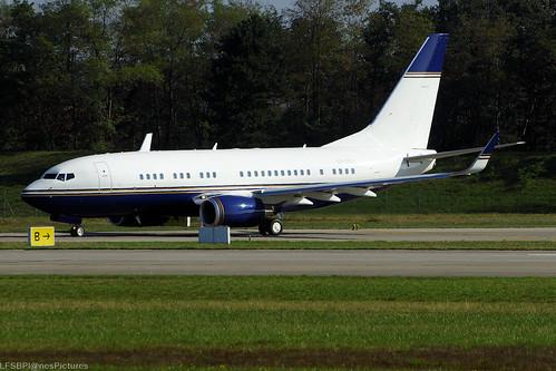 VP-BEL (cn 29139/189) Boeing 737-74T BBJ Orient Global