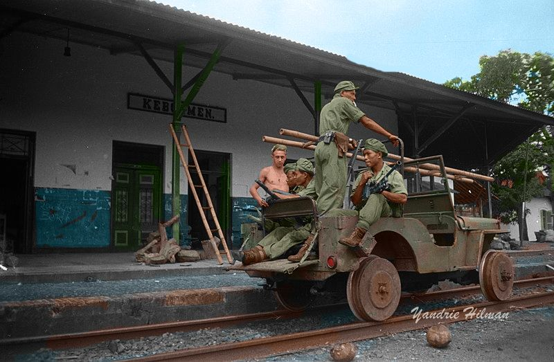 Dutch occupation forces in Indonesia and the colonial war.(80 photos) Indonesia, the Netherlands, Sukarno, October, December, Indonesia, independence, August, November, time, against, Dutch, government, uprising, armed, September, landing, However, Indonesia, Dutch