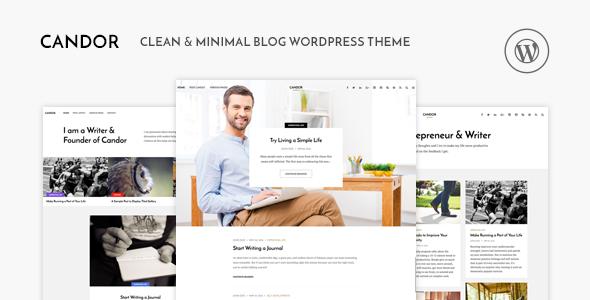 Candor v1.1.2 – Responsive WordPress Blog Theme