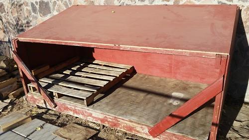 Woodbox Under Renovation