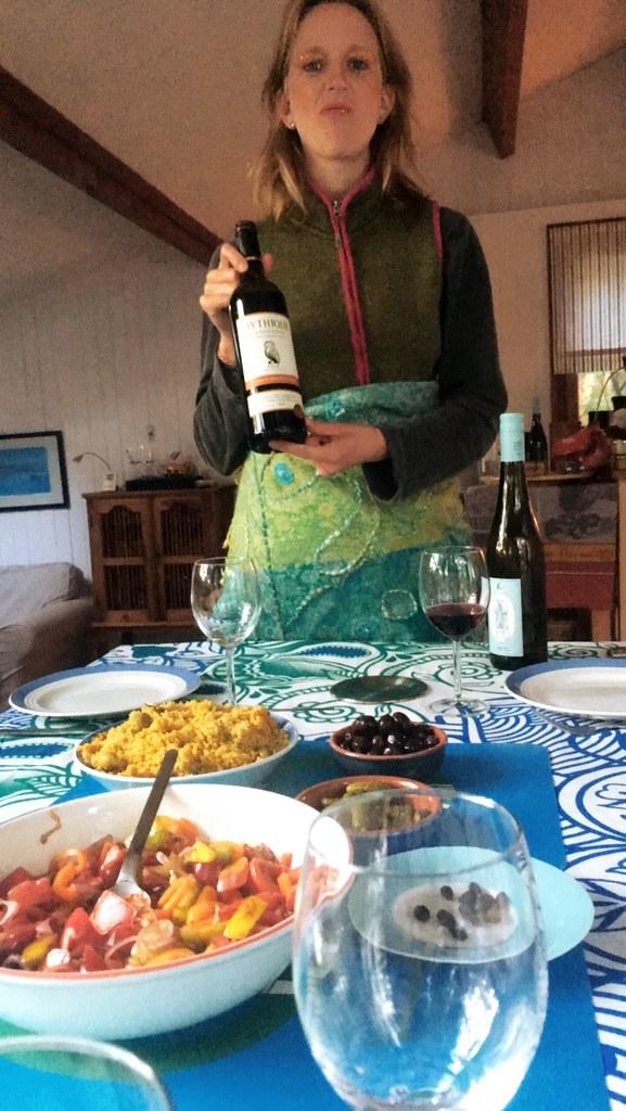 Vino und Taboulé