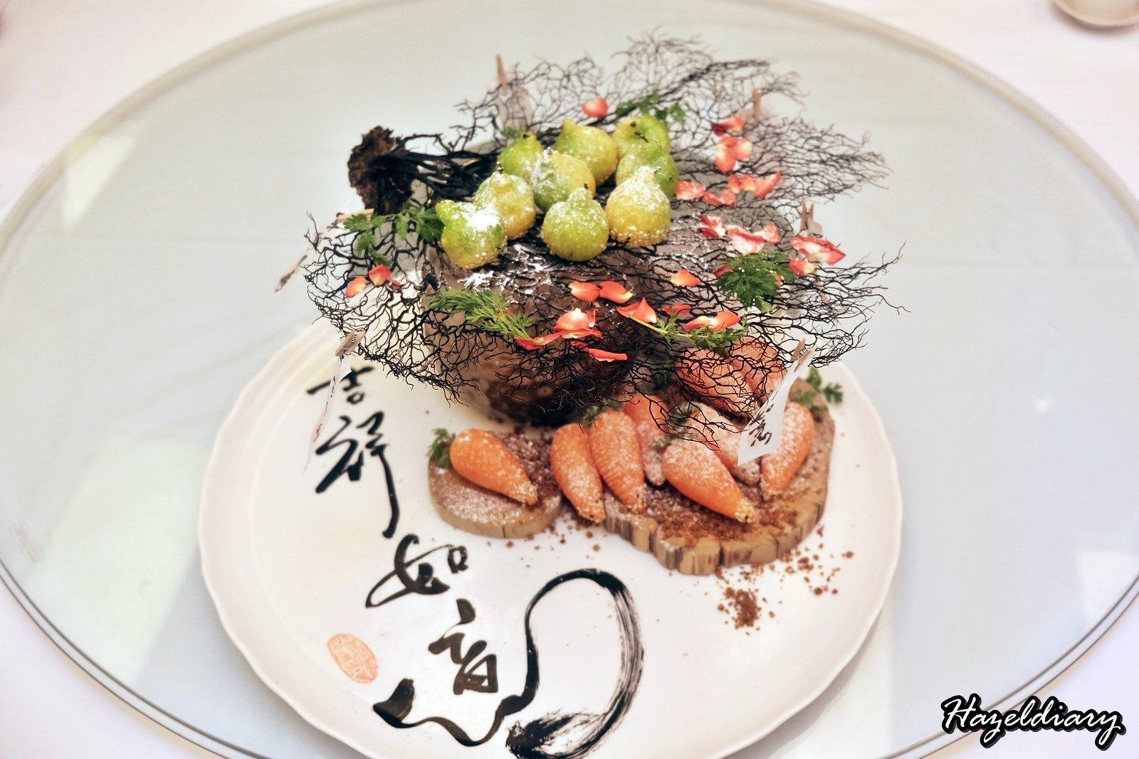 Crystal Jade Palace -Chef Martin Foo - 6 course menu-Special Dessert