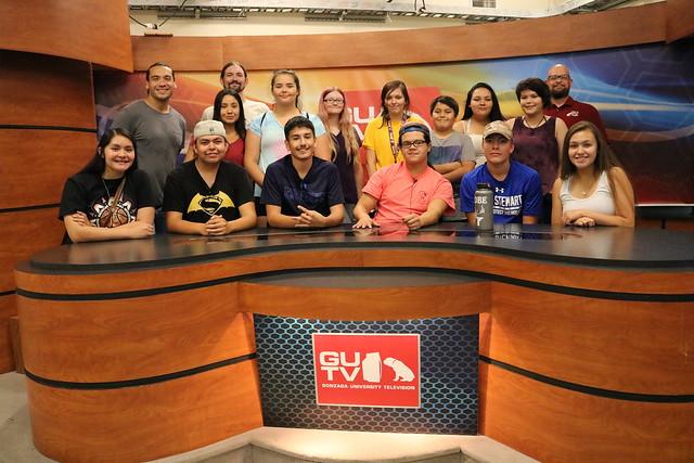 2018 NYMW visits Gonzaga University