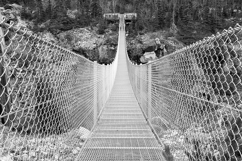 Yukon Suspension Bridge.