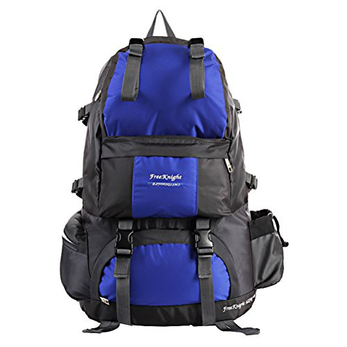 Hiking Backpack 50L Waterproof DayPack for Outdoor Camping Travel Hunter (Blue) 2006-11-02 Review