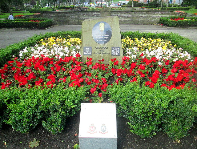 Gallipoli Memorial, Rochdale