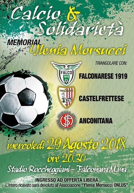 2018 - Memorial Ylenia Morsucci
