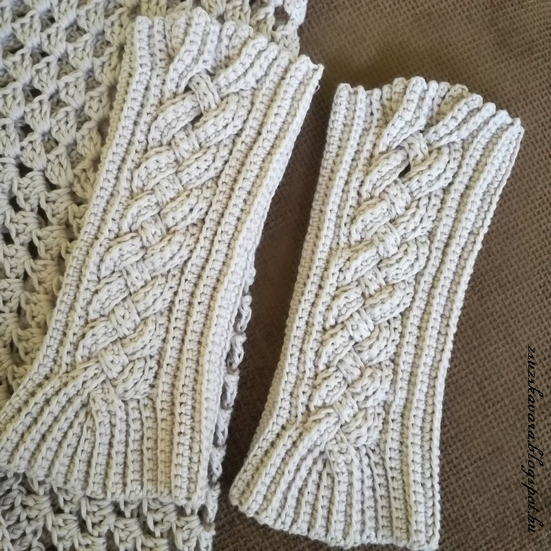 crochet, fingerless gloves (2)