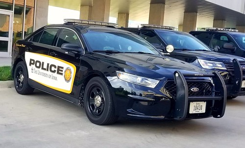 University of Iowa Police Ford Interceptor Sedan (2)