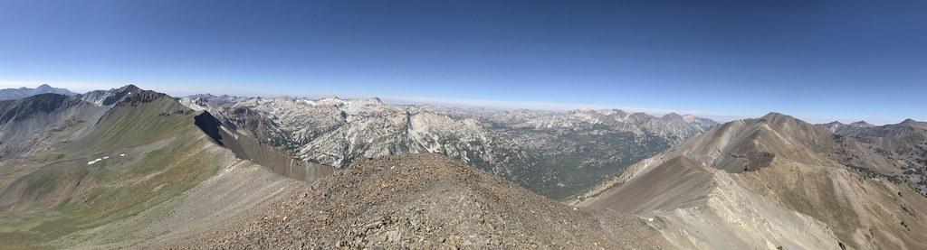 West fork Willowa valley from Sentinel peak