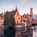 First Light on Bruges by jameslf