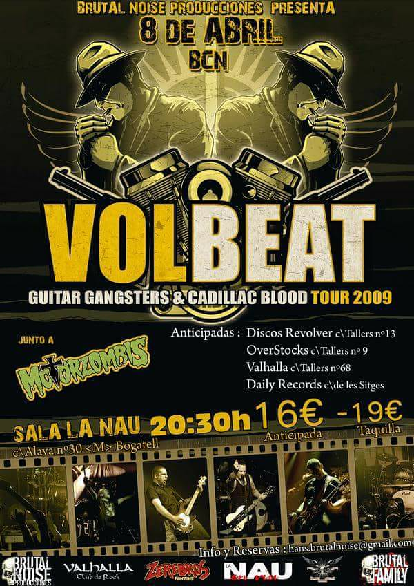 volbeat brutal noise