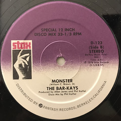 THE BAR-KAYS:HOLY GHOST(LABEL SIDE-B)
