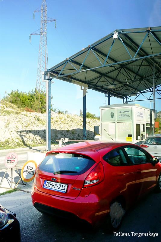 На черногорской границе