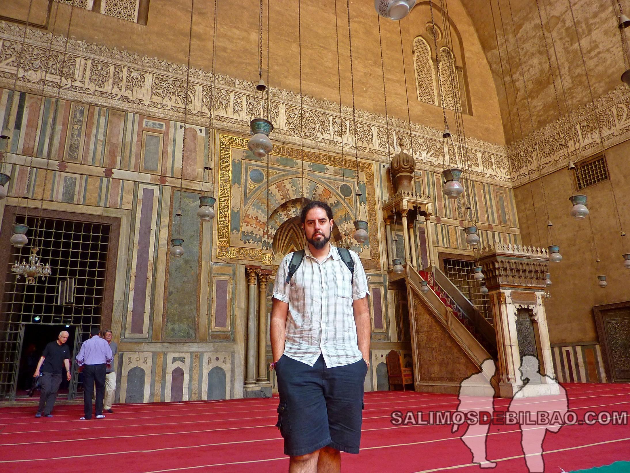 0033. Katz, Mezquita y Madraza de Sultan Hasan, Cairo