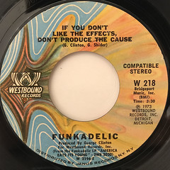 FUNKADELIC:COSMIC SLOP(LABEL SIDE-B)