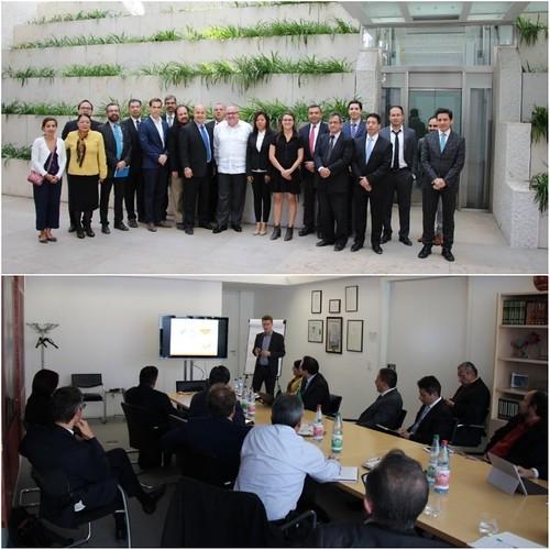 """Delegación mexicana visita Alemania en el marco del proyecto de cooperación técnica """"Convergencia"""